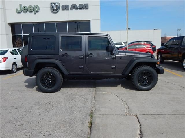 New 2018 JEEP Wrangler Unlimited Willys Wheeler