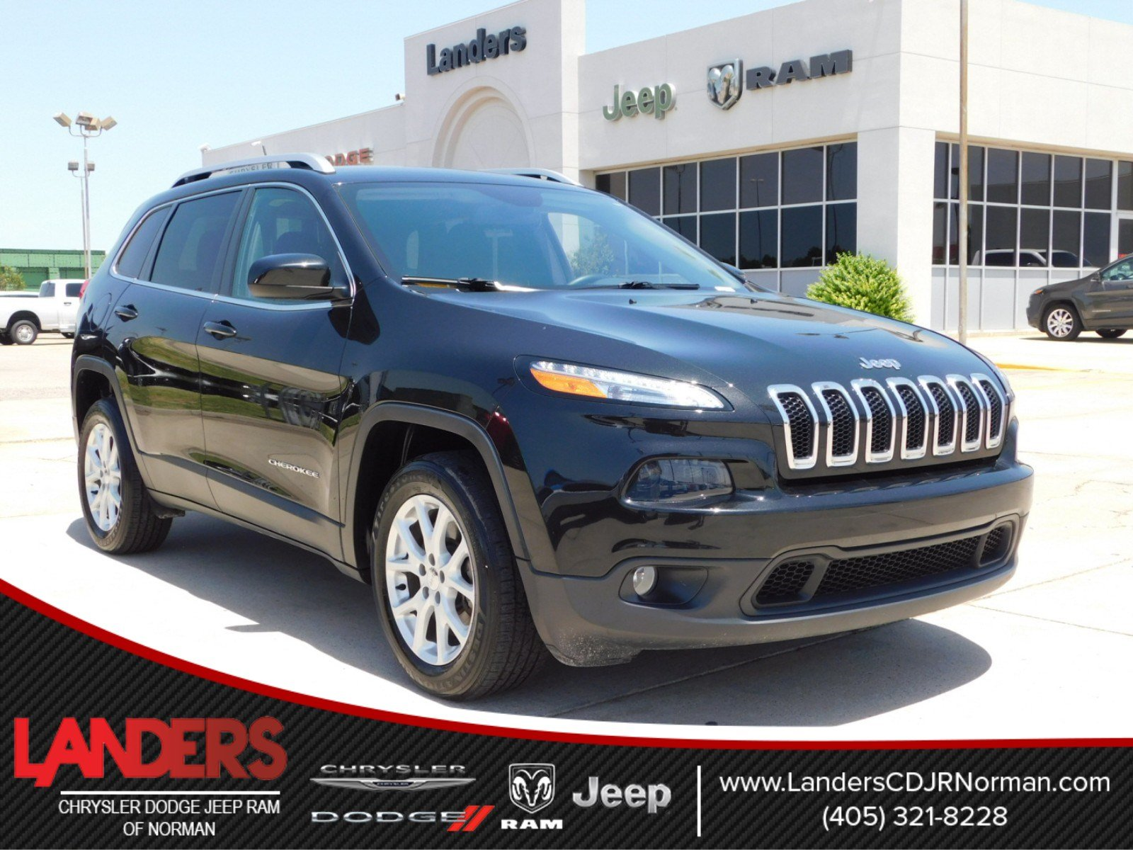 Certified Pre Owned 2016 Jeep Cherokee Latitude Sport Utility in