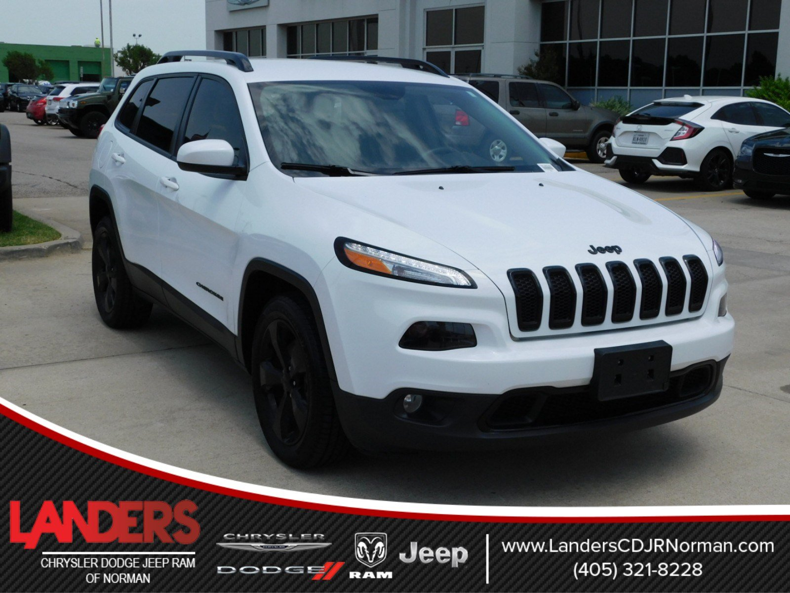 Certified Pre Owned 2016 Jeep Cherokee Altitude Sport Utility in