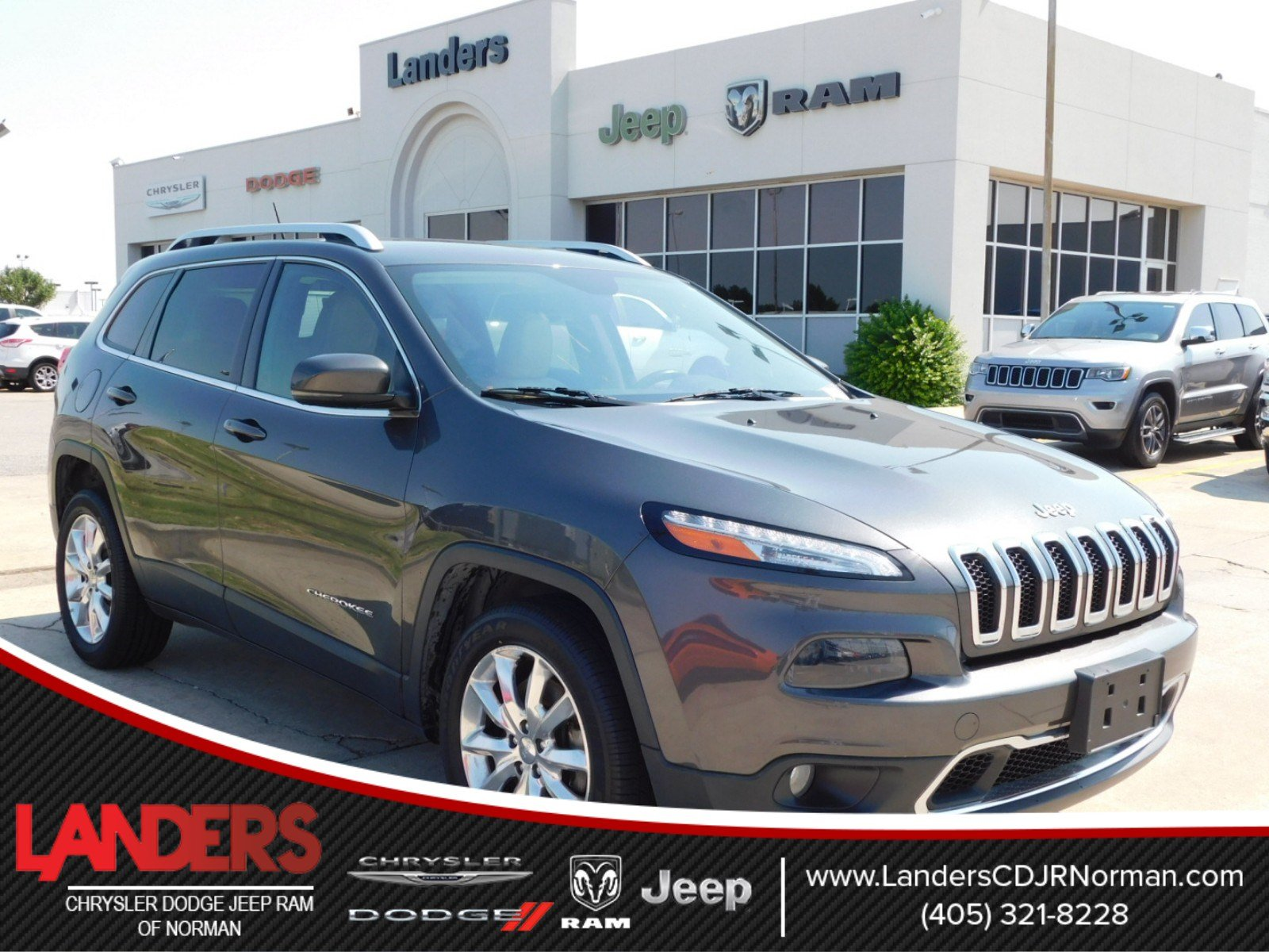 Certified Pre Owned 2015 Jeep Cherokee Limited Sport Utility in