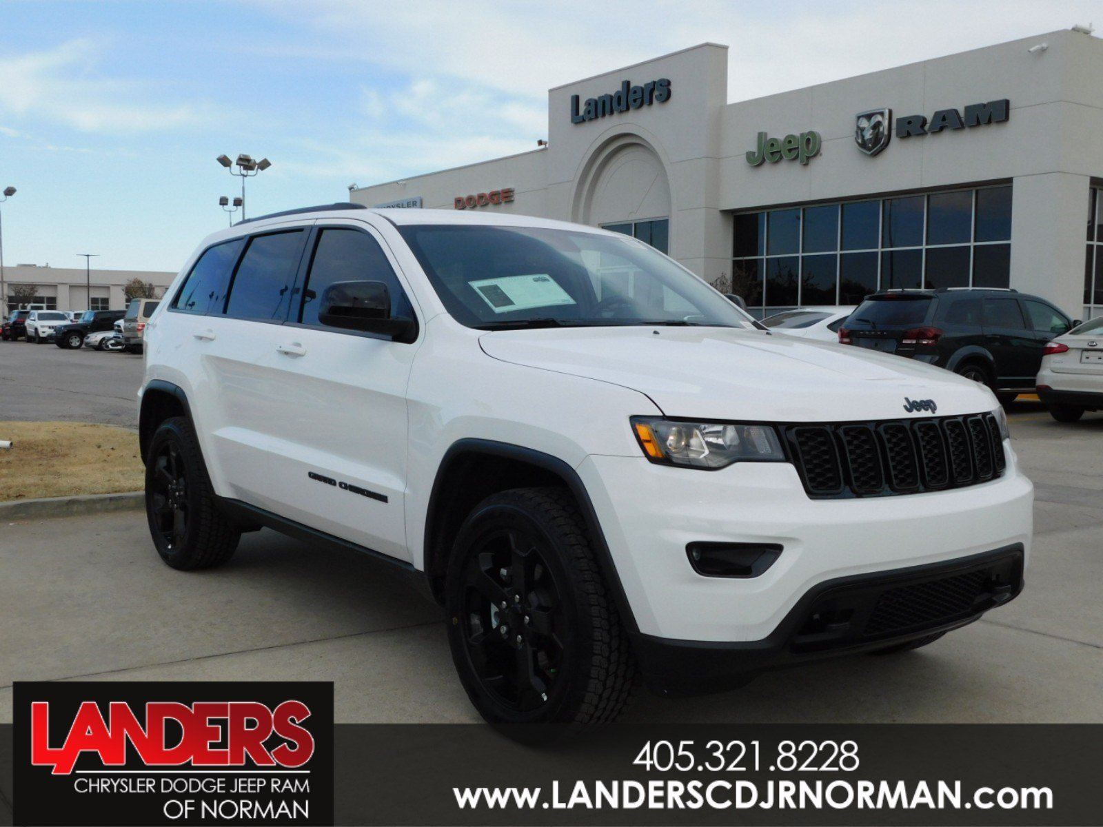 New 2018 JEEP Grand Cherokee Upland