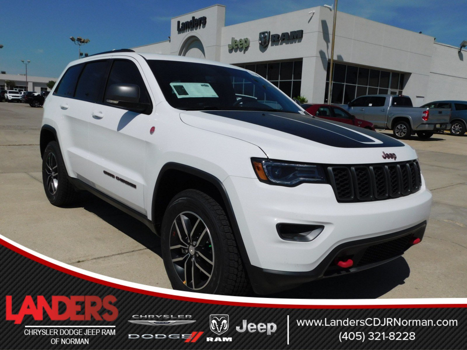 new 2018 jeep grand cherokee trailhawk sport utility in norman
