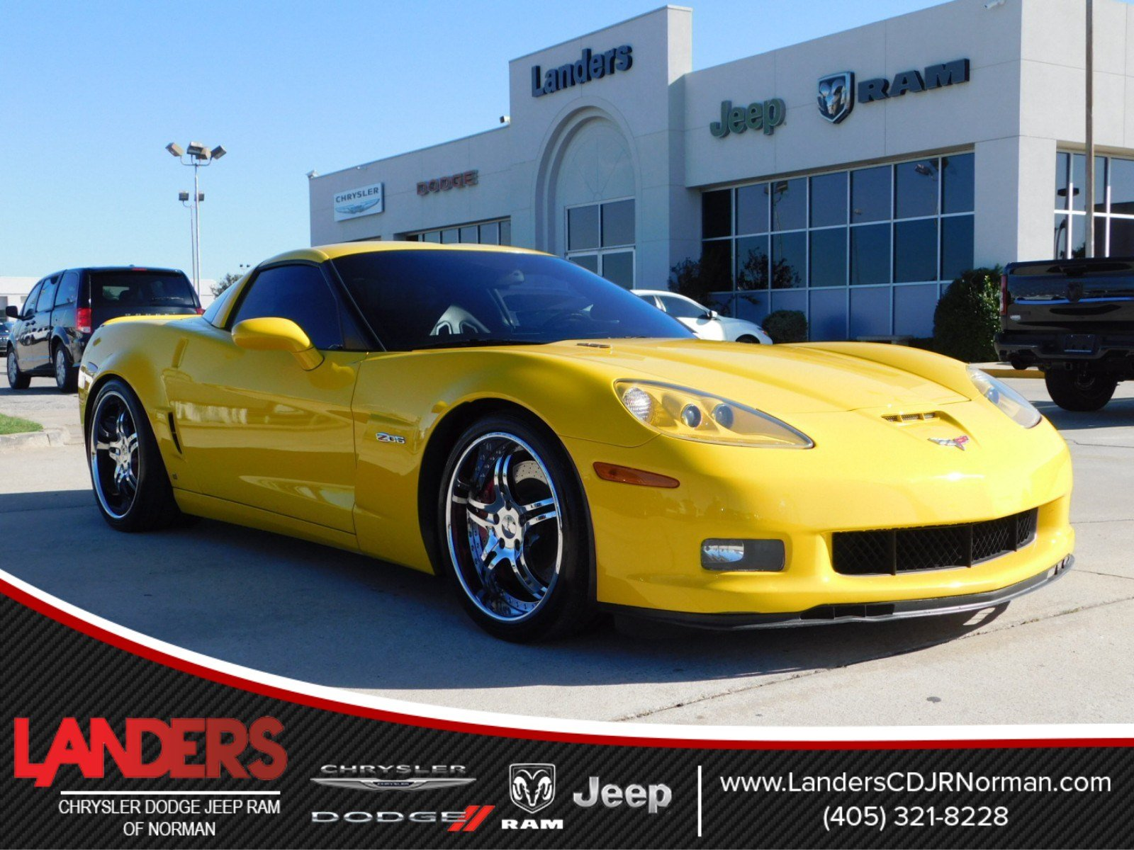Pre Owned 2006 Chevrolet Corvette Z06 2dr Car In Norman 65104142