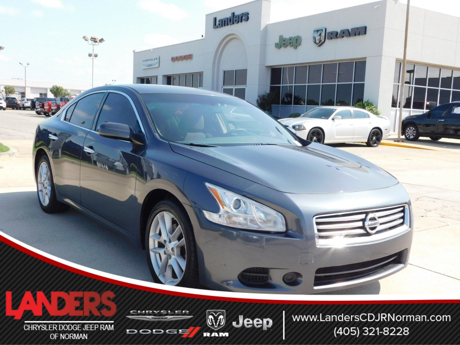 Pre-Owned 2012 Nissan Maxima 3.5 S 4dr Car in Norman #CC821242 ...