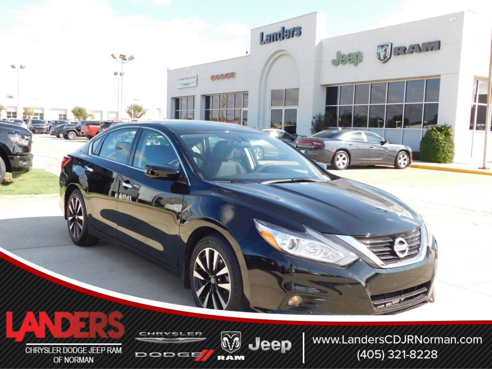 pre-owned 2017 nissan altima 2.5 sv 4dr car in norman #hc488137