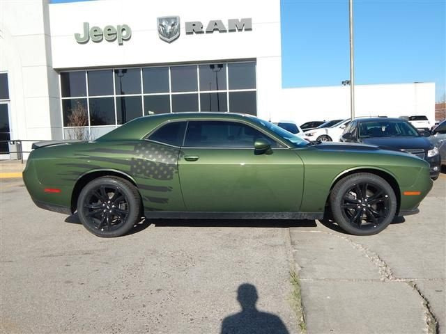 New 2018 Dodge Challenger Sxt Coupe In Norman Jh215369 Landers