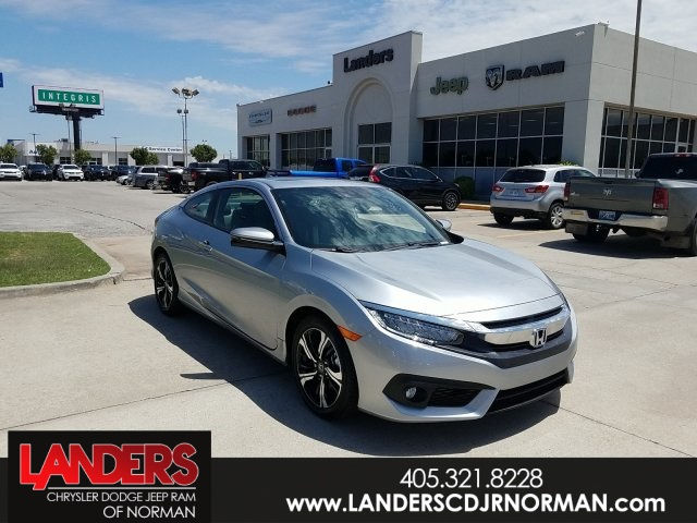 Pre-Owned 2018 Honda Civic Coupe Touring