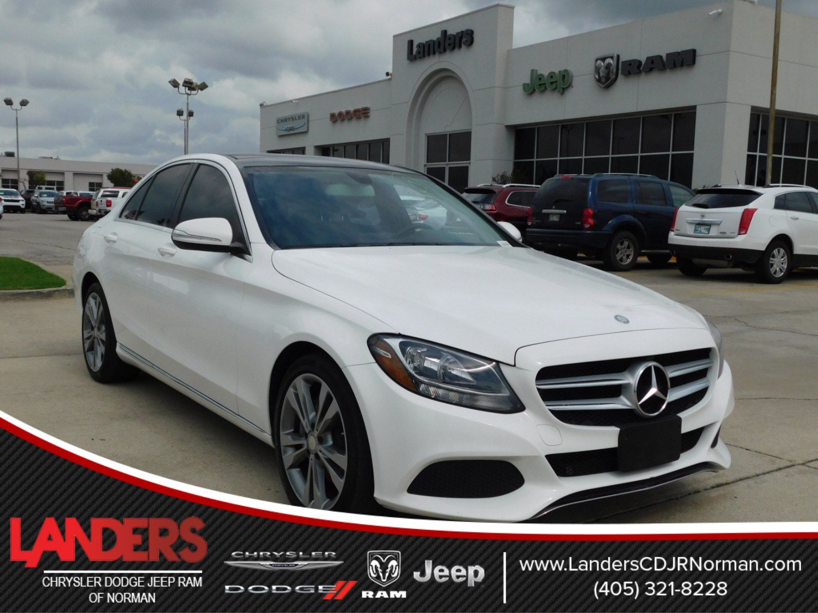 Pre Owned 2015 Mercedes Benz C Class C 300 4dr Car in Norman