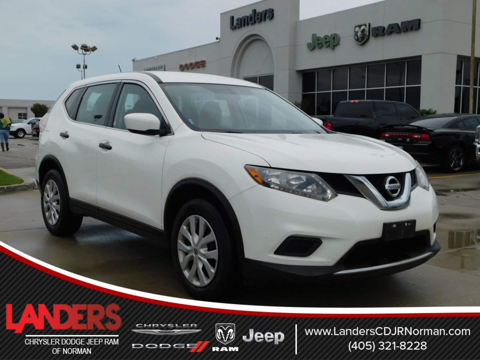 pre owned 2016 nissan rogue s sport utility in norman. Black Bedroom Furniture Sets. Home Design Ideas