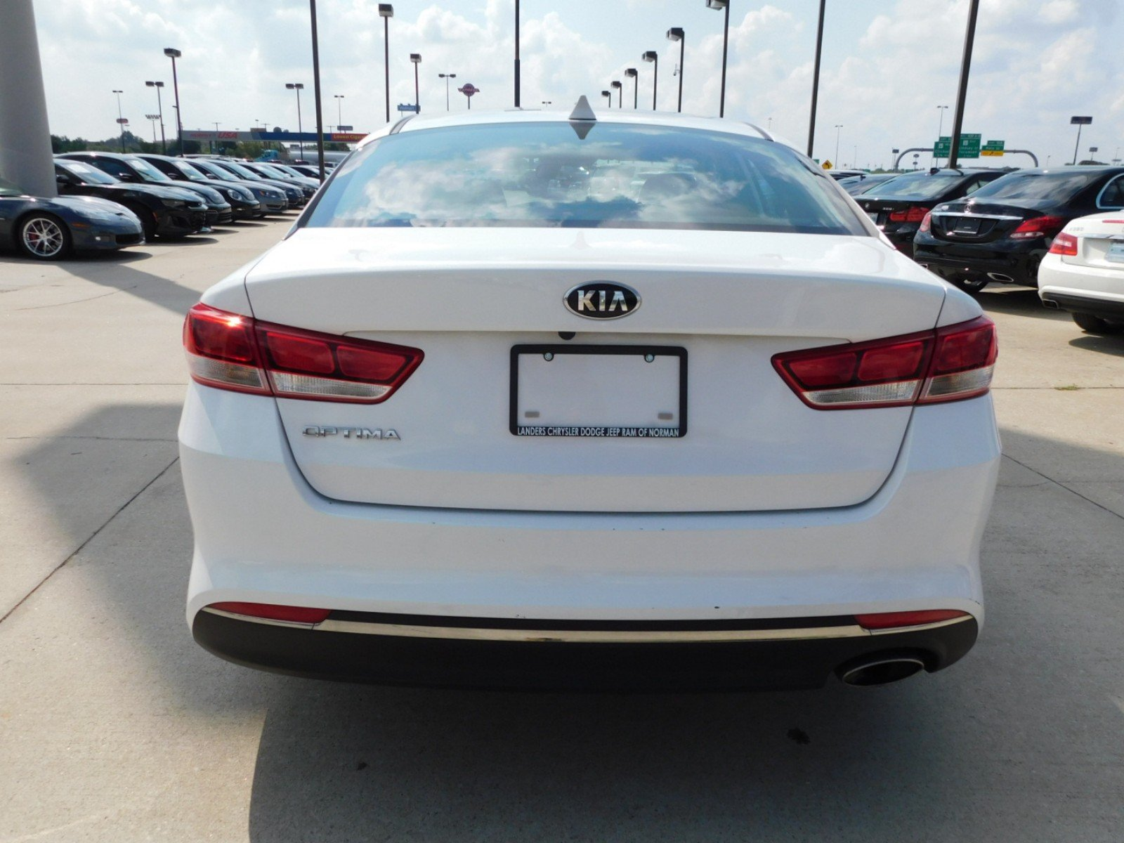 Pre Owned 2017 Kia Optima Lx 4dr Car In Norman Hg123180 Landers Belts For 2006
