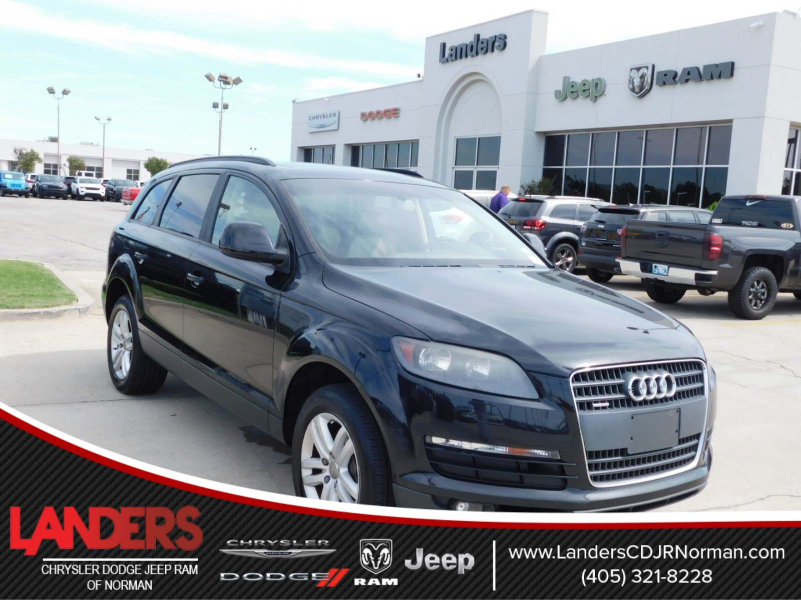 Pre Owned 2008 Audi Q7 3 6L Sport Utility in Norman 8D