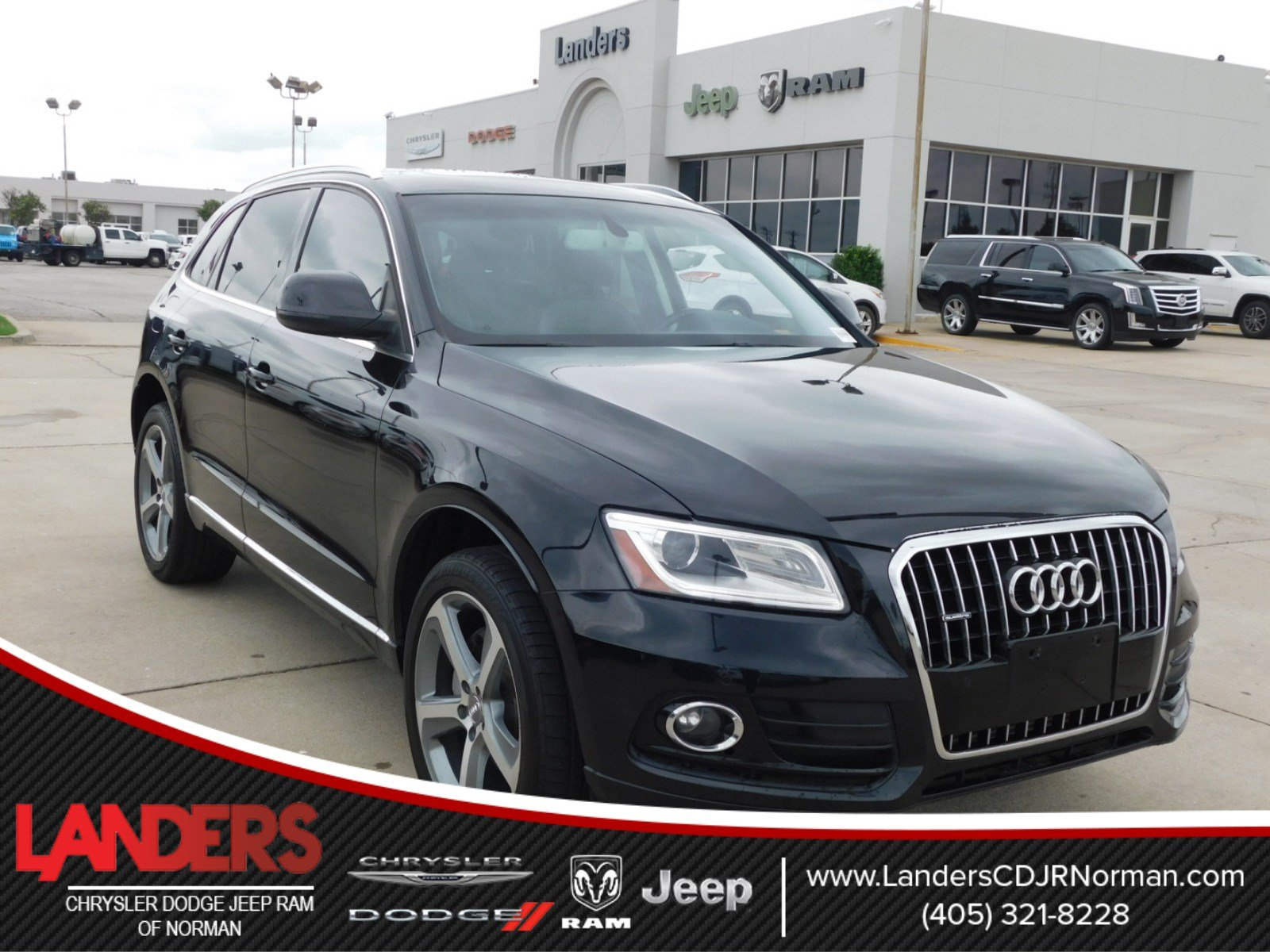 Pre Owned 2014 Audi Q5 Premium Plus Sport Utility in Norman