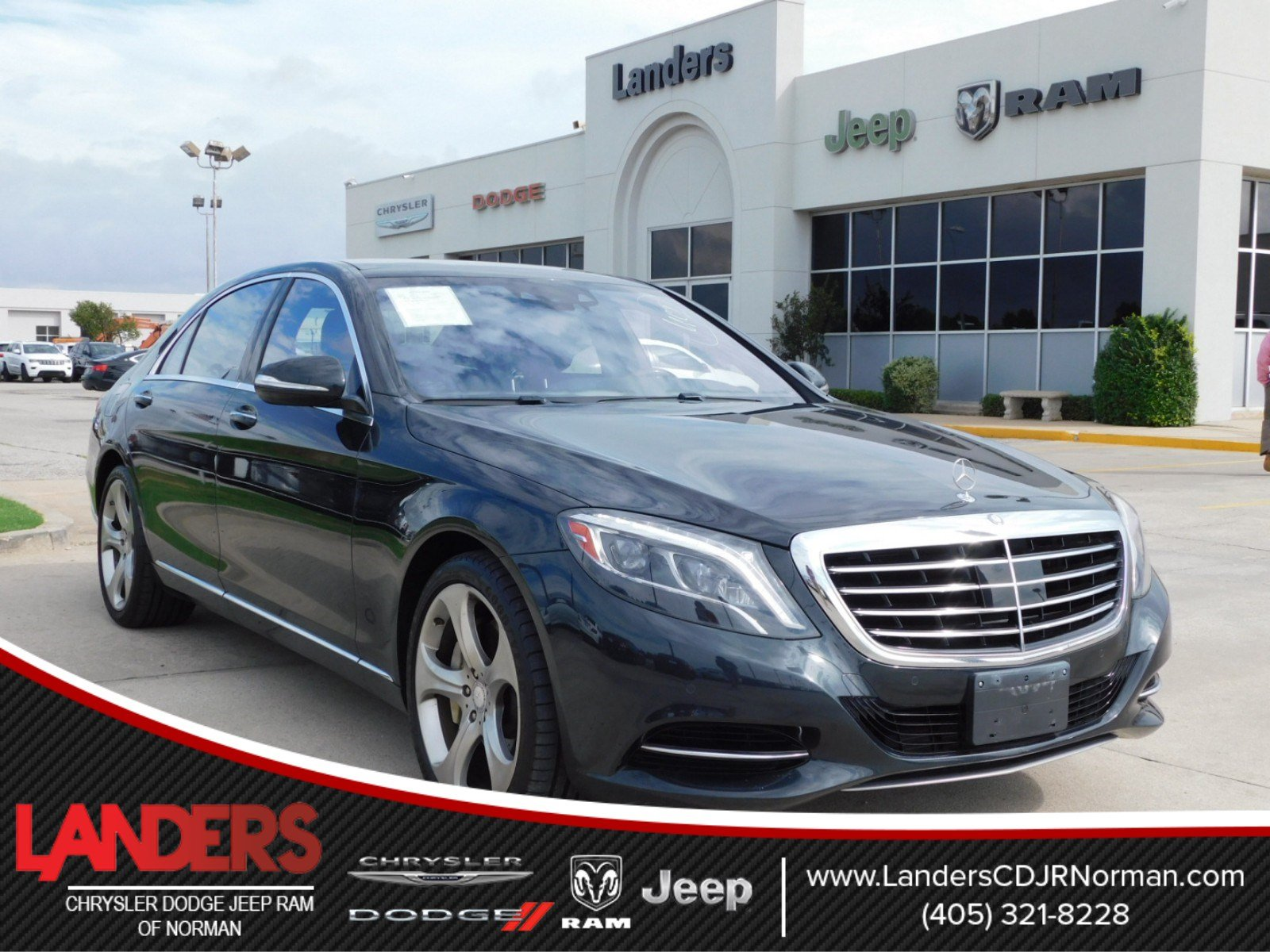 Pre Owned 2014 Mercedes Benz S Class S 550 4dr Car in Norman